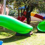 Creche Profª Silvia Ferreira Farah passa  por reforma e recebe novo playground