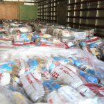 Fundo Social recebe doação de 1.200 cestas básicas