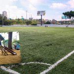Prefeitura entrega reformas do Campo do Escrefo e de Área de Lazer no Jardim Canaã